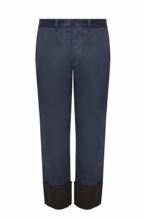 Trousers with rolled-up cuffs od Loewe