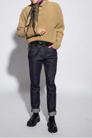 Jeans with logo od Ami Alexandre Mattiussi