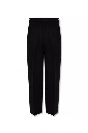 Pleat-front trousers od Ami Alexandre Mattiussi