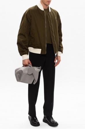 Wool pleat-front trousers od Loewe