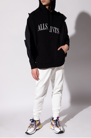 'hadean' sweatpants with logo od AllSaints
