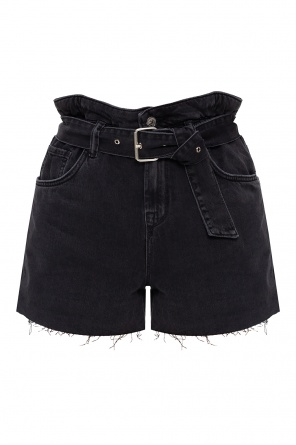 'hannah' denim shorts od AllSaints