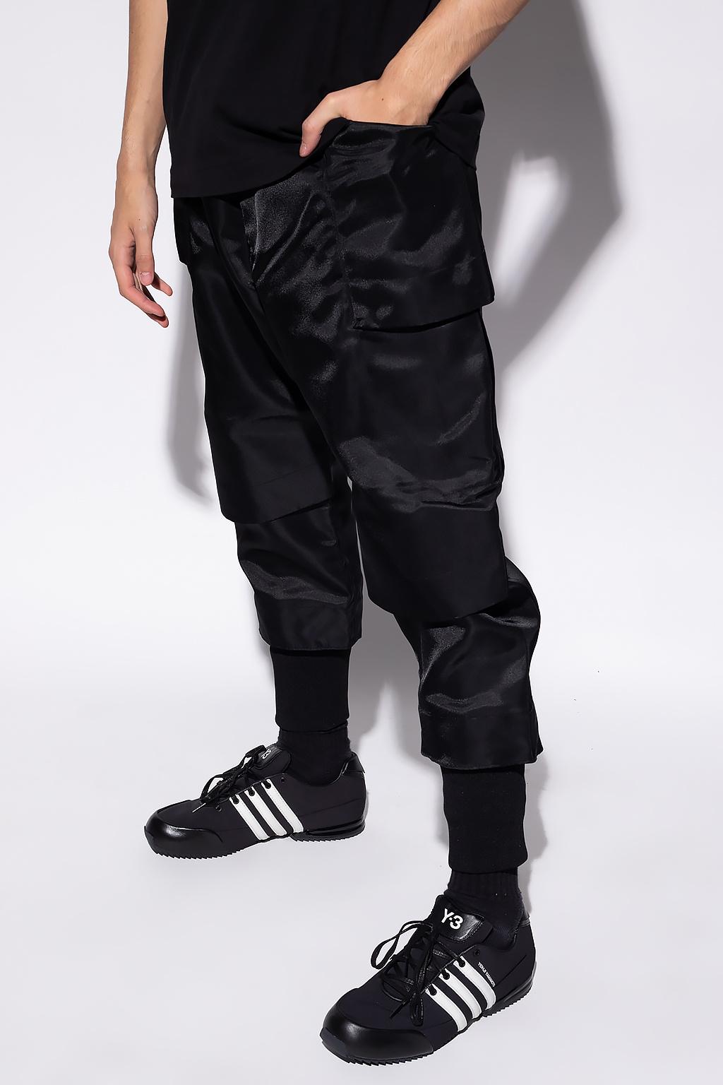 Y-3 Yohji Yamamoto Trousers with pockets