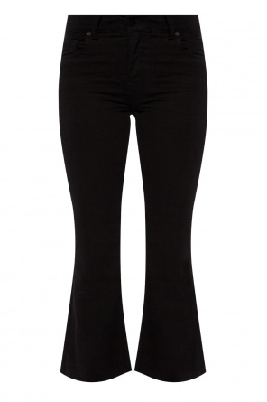 'heidi' cropped flared trousers od Allsaints