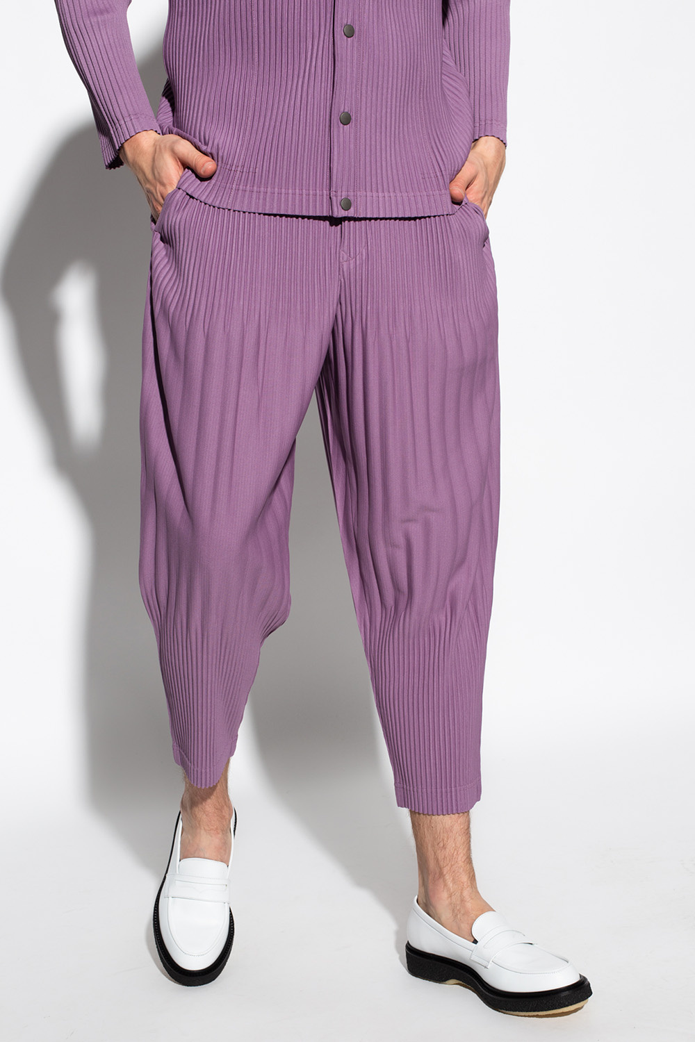 Issey Miyake Homme Plisse Pleated trousers