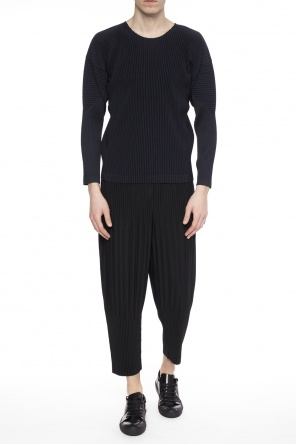 Textured trousers od Homme Plisse Issey Miyake