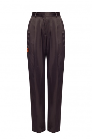 Creased trousers od Heron Preston