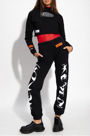 Spodnie dresowe z logo od Heron Preston