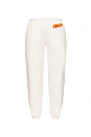 Spodnie dresowe z naszywkami od Heron Preston