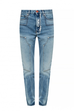 Raw hem jeans od Heron Preston