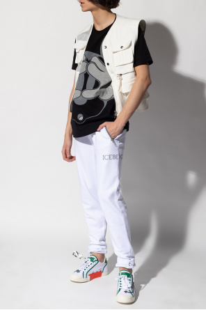 Sweatpants with logo od Iceberg