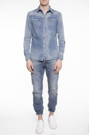 'reed' straight leg jeans od AllSaints