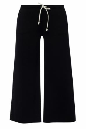 'ivy' sweatpants with wide legs od AllSaints
