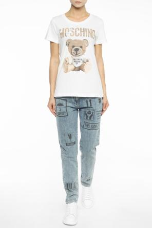 Printed jeans od Moschino