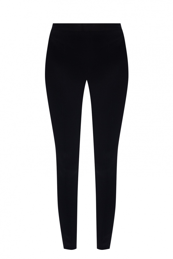 Helmut Lang Leggings with rib detail