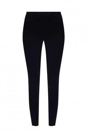 Leggings with rib detail od Helmut Lang