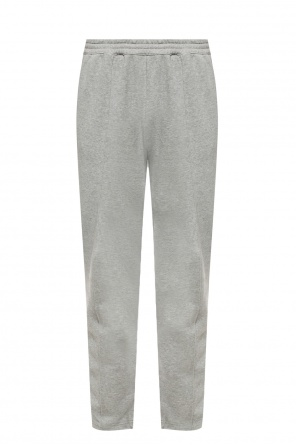 Sweatpants with sewn-in zippers od Helmut Lang