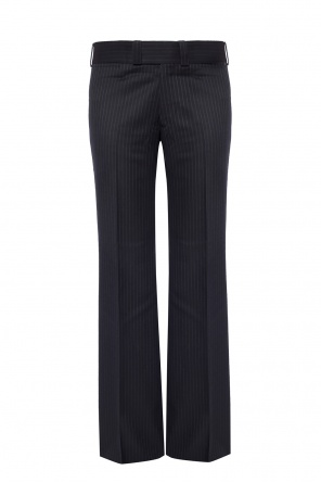Striped flared trousers od Junya Watanabe Comme des Garcons