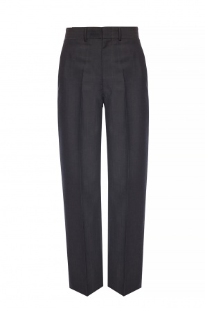 Creased woolen trousers od Junya Watanabe Comme des Garcons