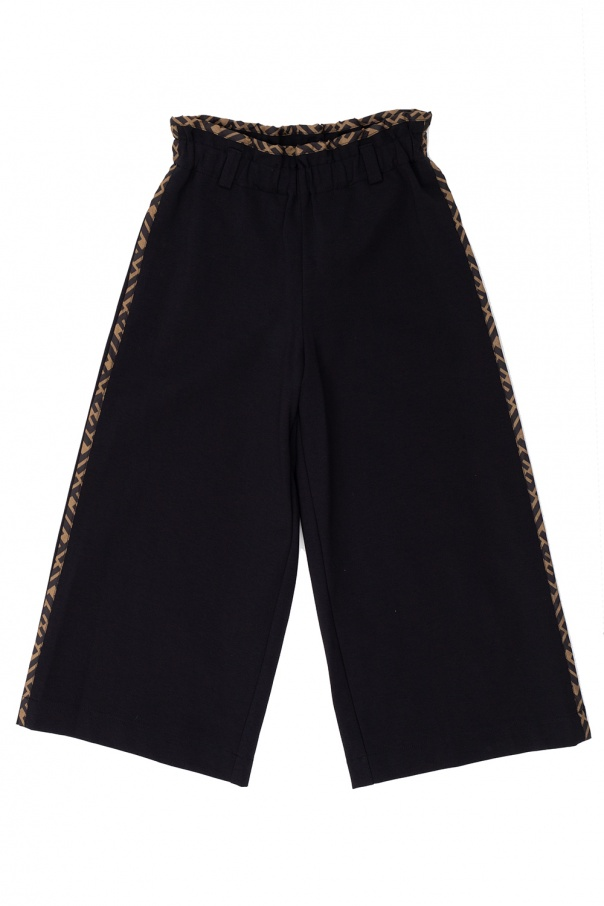 Fendi Kids Wide-legged trousers