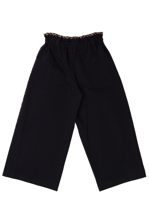 Fendi Kids Wide-legged trousers