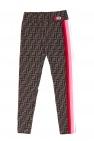 Fendi Kids Patterned leggings