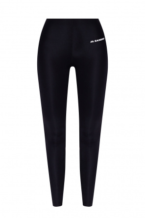 Leggings with logo od JIL SANDER+