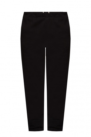 Sweatpants with logo od JIL SANDER