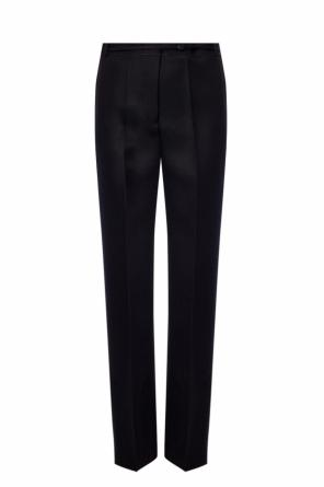 Wool creased trousers od JIL SANDER