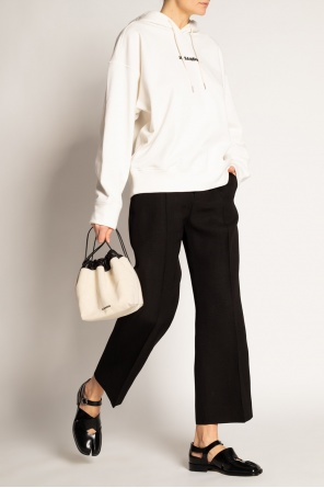 Pleat-front trousers od JIL SANDER