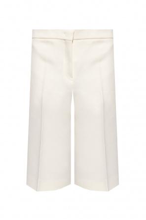 Pleat-front shorts od JIL SANDER