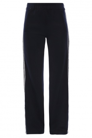 Side-stripe flared trousers od Victoria Victoria Beckham