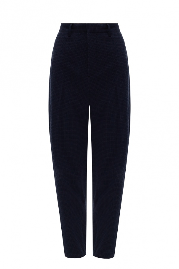 Theory Pleat-front trousers