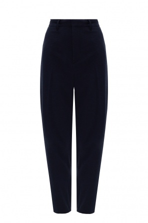 Pleat-front trousers od Theory