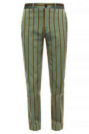 Striped trousers od Kent & Curwen