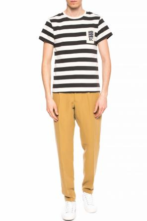 Tapered leg trousers od Kent & Curwen