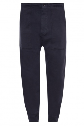 Raw-cut sweatpants od Kent & Curwen
