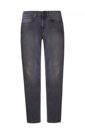 Jeans with tapered legs od Kent & Curwen