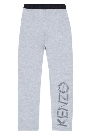 Printed sweatshirt leggings od Kenzo Kids