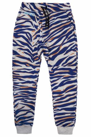 Patterned sweatpants od Kenzo Kids