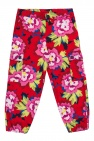 Kenzo Kids Floral-printed trousers