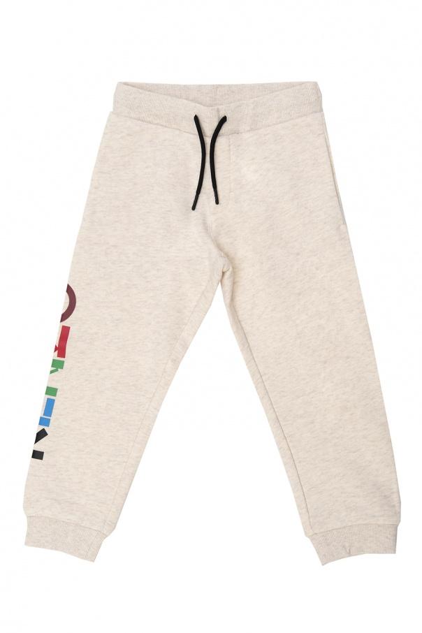 Kenzo Kids Sweatpants with logo