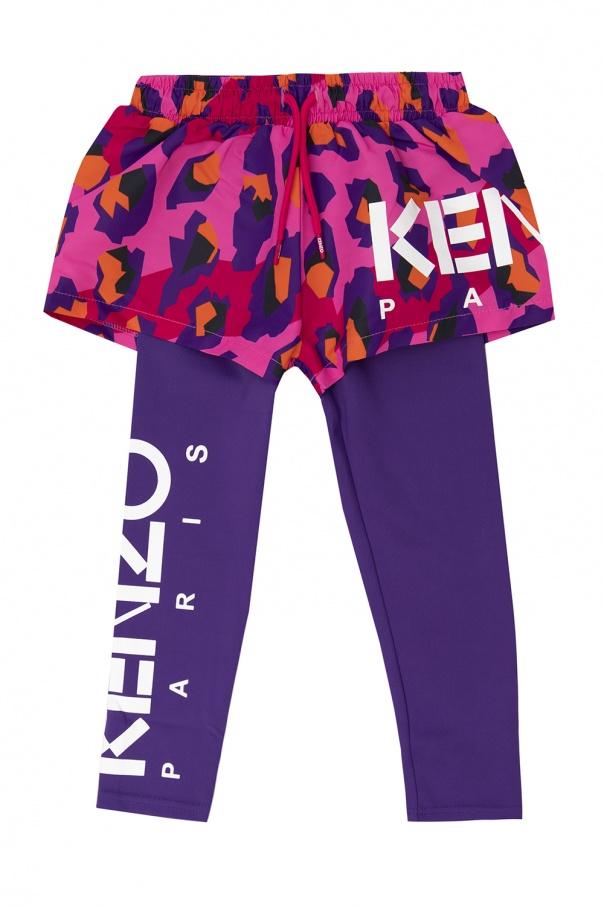 Kenzo Kids Shorts & leggings kit