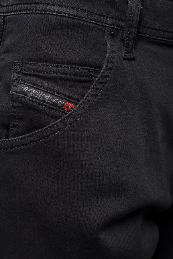 'krooley' distressed jeans od Diesel