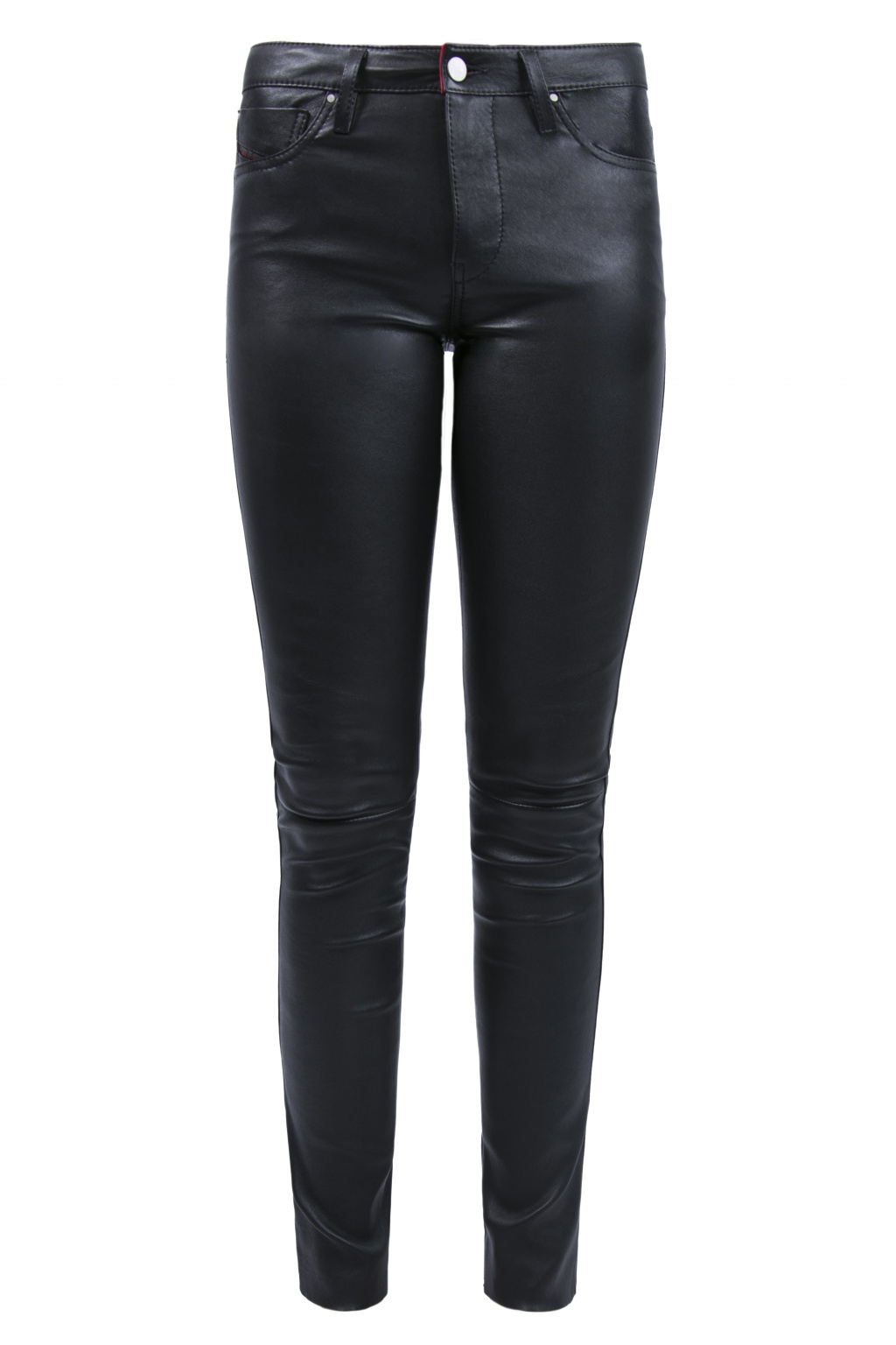 Diesel Leather 'L-Skim' Trousers