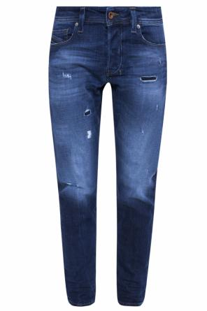 'larkee-beex' jeans with holes od Diesel