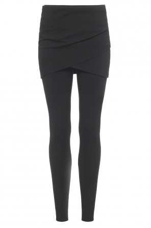 Asymmetrical skirt leggings od Allsaints