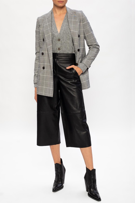 AllSaints 'Leah' leather trousers