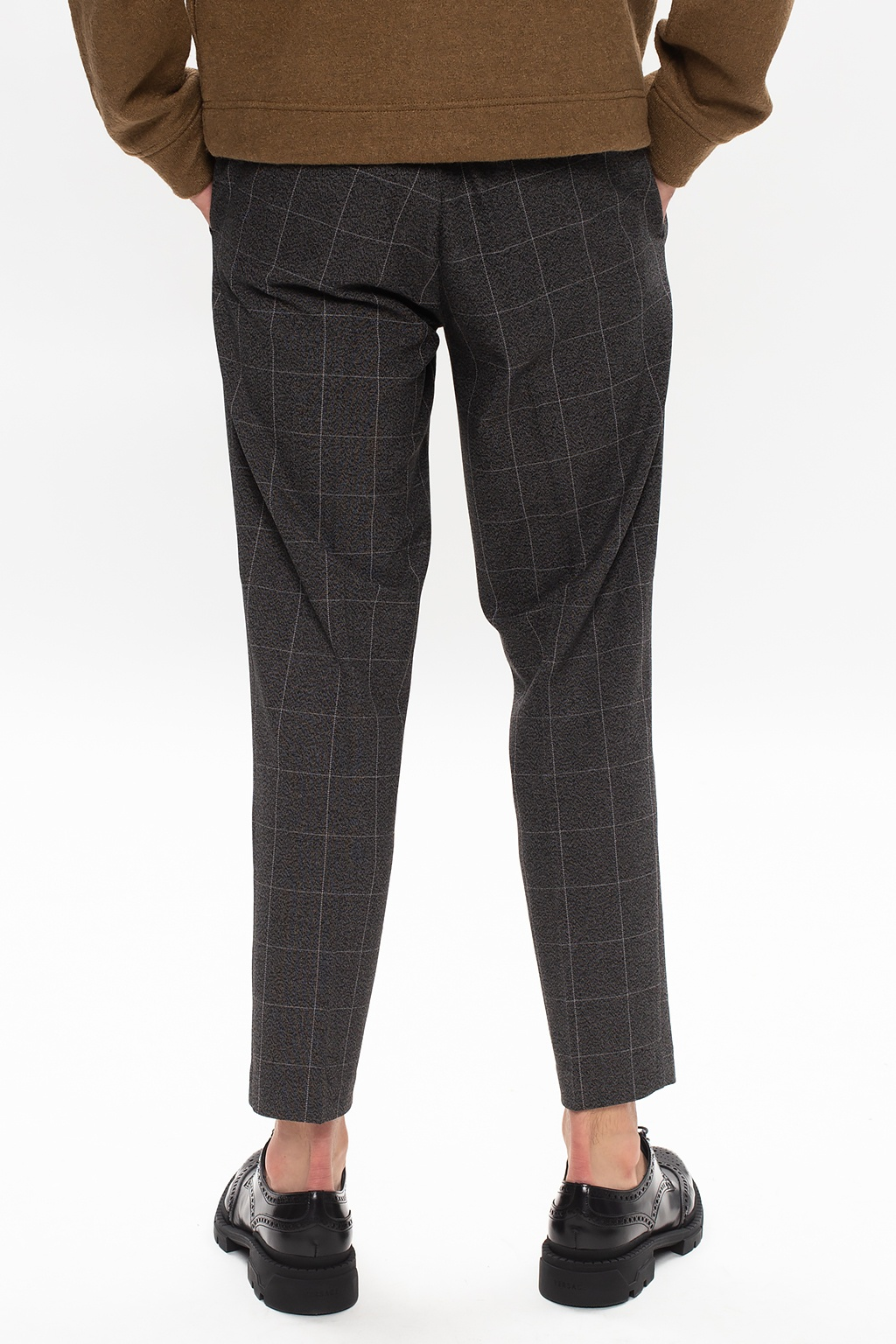 Samsøe Samsøe Checked trousers