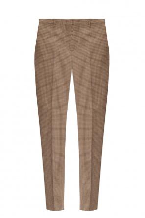 Wzorzyste spodnie w kant od Paul Smith